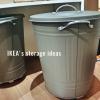【IKEA】男前なドラム缶バケツで収納アイディア①
